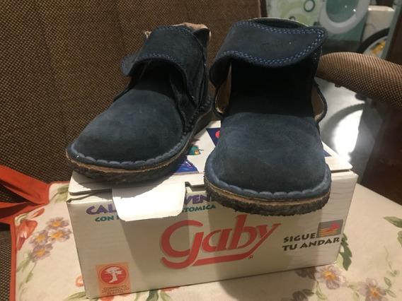 Botas Botitas Gamuza Niña/niño Con Velcro