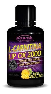 L-carnitina 2000 (480ml) Power Supplements - 20% Off