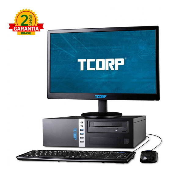 Comp Tcorp Small Form Factor Intel Core I5 7400 8gb 500gb