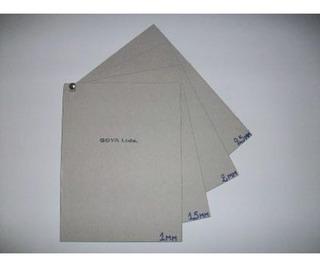 Cartón Gris Extra Liso 2mm 35x50