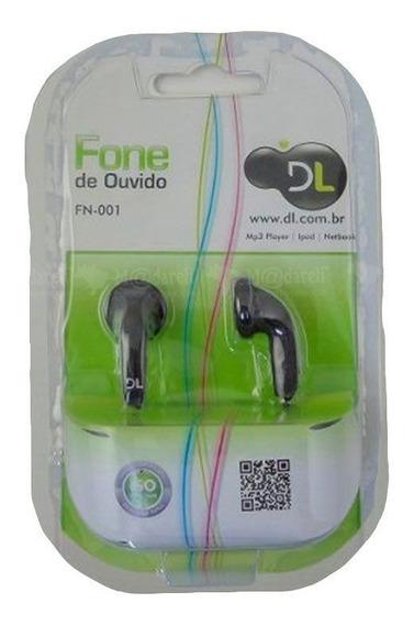 Fone De Ouvido Para Mp4 iPod Tablet Notebook - Dl Fn001