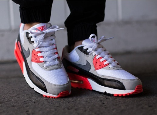 Nike Air Max 90 Infrared Masculino Calçados, Roupas e