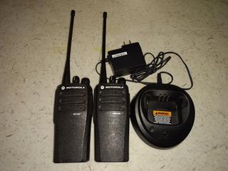 Par De Radios De Frecuencia, Motorola Dep450