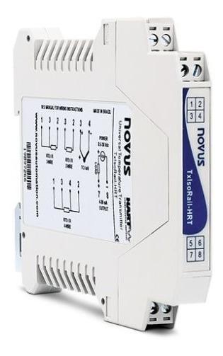 Transmissor De Temperatura Tx Rail (4-20ma) Novus