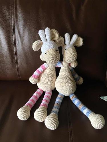 Jirafa Amigurumi Crochet Para Bebes Y Niños