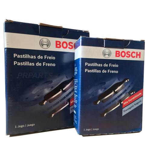 Imagem 1 de 3 de Pastilhas Bosch Freio Dianteira + Traseira Honda City 1.5 2009 2010 2011 2012 2013 2014