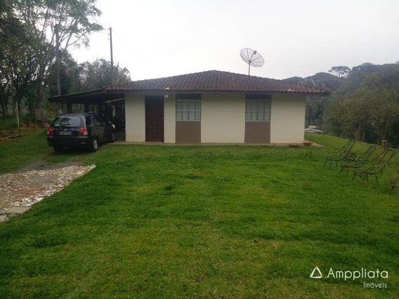 Chácara À Venda, 6239 M² Por R$ 300.000,00 - Ribeirão Do Tigre - Quatro Barras/pr - Ch0032