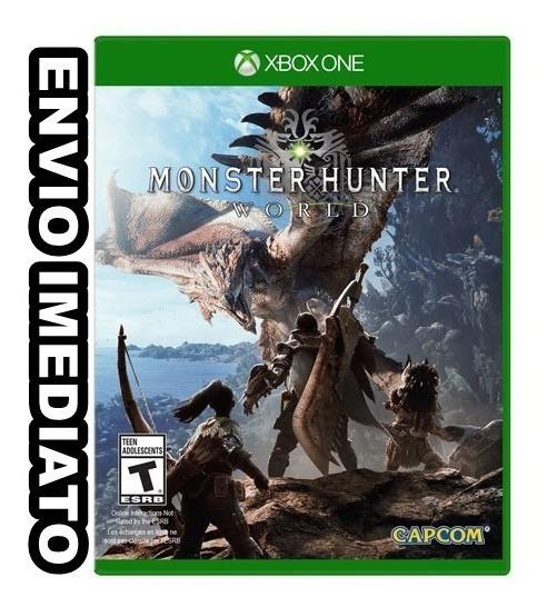 Monster Hunter: World -digital Xbox One Off Envio