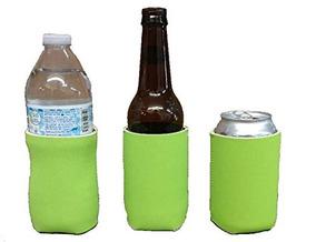 Neopreno Blanco Se Coolers, Beber Culíes, Aisladores Plegabl