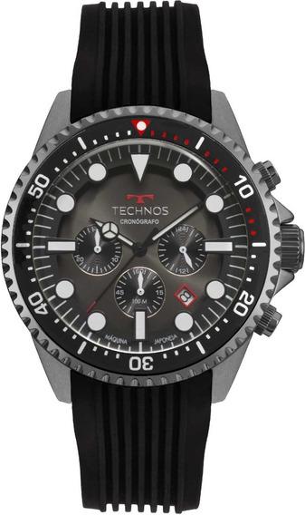 Relógio Technos Masculino Skymaster Cronógrafo Js25cc/8p
