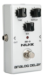 Pedal Guitarra Ad-3 Delay Analogo True By Pass Nux Promo