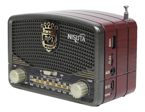 Mini Radio Bluetooth Nisuta Ns-rv16