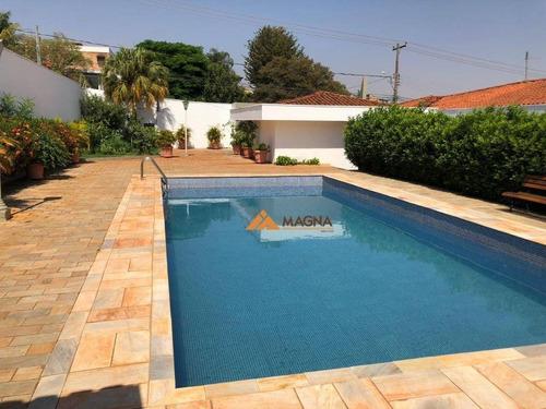 Imagem 1 de 30 de Casa À Venda, 423 M² Por R$ 1.800.000,00 - Alto Da Boa Vista - Ribeirão Preto/sp - Ca2490