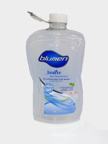 Gel Antibacterial 4 Litros Blumen Natural