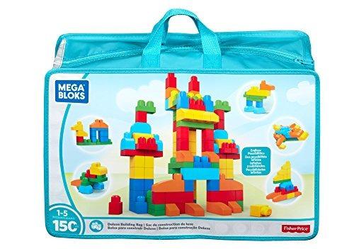 Bolsa De Construcción Mega Bloks Deluxe De 150 Piezas