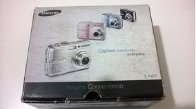 Câmera Fotográfica Samsung S760. 7.2 Mp (não Liga)