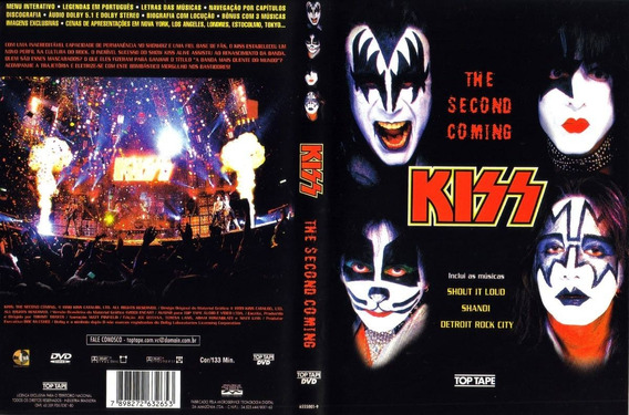 Kiss The Second Coming - Dvd Original