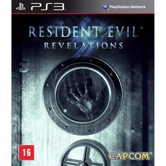 Resident Evil: Revelations (mídia Física Leg Pt-br) - Ps3