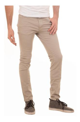 Pack X2 Pantalones Hombre Corte Chino Gabardina Jean Jogging La Feria Online