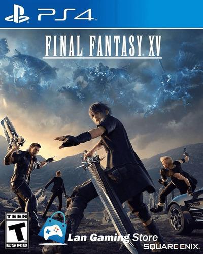 Final Fantasy 15 Ff Xv Playstation 4 Ps4 Nuevo