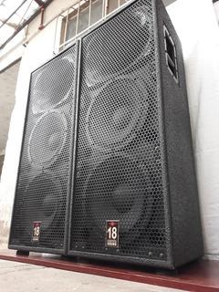 Cajas Doble 12 18 Sound Eighteen Sound**no Permuto**