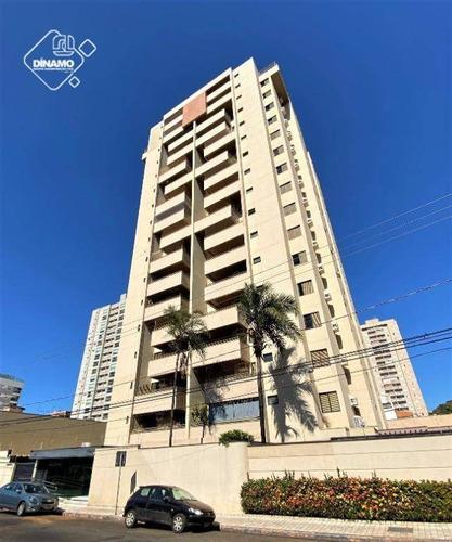 Apartamento Com 3 Dormitórios À Venda, Santa Cruz - Ribeirão Preto/sp - Ap0803