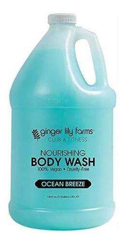 Ginger Lily Farms Club & Fitness Ocean Breeze Gel De Baño