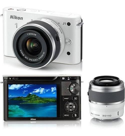 Camera Fotografica Nikon Branca J1