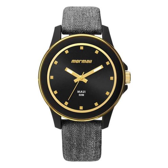 Relógio Mormaii Feminino Mo2035hz/8p Black Mauí