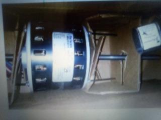 Motor Ventilador 3/4 Hp Doble Eje Kielman Eje 1/2 (130)