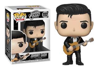 Funko Pop! Johnny Cash 117 Muñeco Original