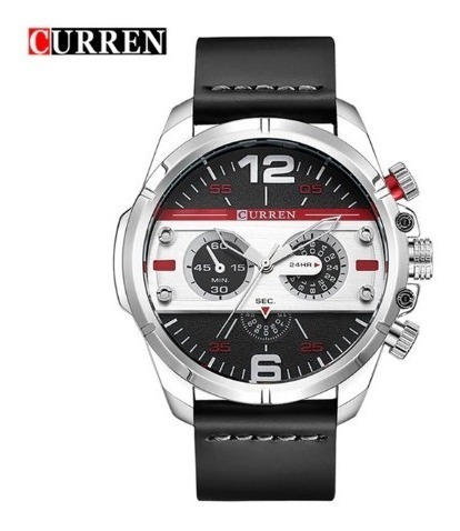 Relógio Masculino Curren 8259 Luxo Casual Social Esportivo