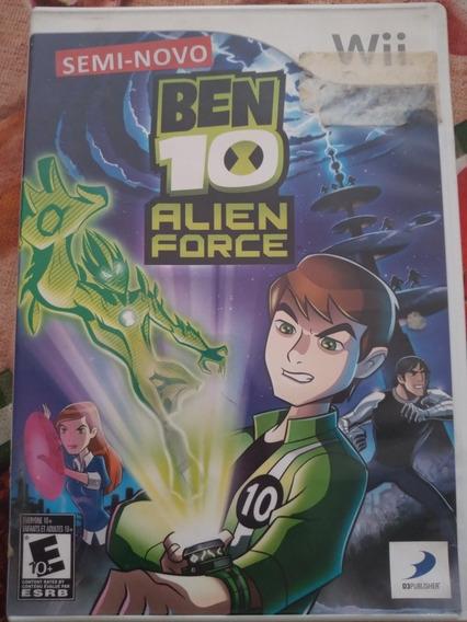 Bem 10 Alien Force Para Nintendo Wii