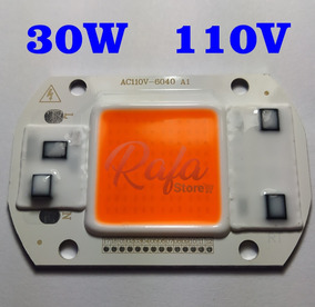 Super Power Led Cob 30w 110v Full Spectrum Grow 380-840nm