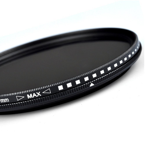 Filtro Fotográfico Dslr Variable Nd2-400 62mm Cristal Optico