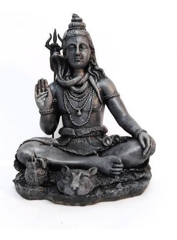 Shiva Estatua Em Resina 20 Cm