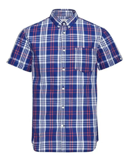 Camisa Talle Especial Manga Corta Hombre 48-50-52 Beyourself
