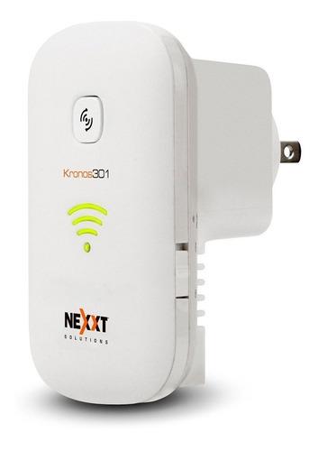 Imagen 1 de 8 de Extensor Wifi Repetidor Nexxt Kronos301 Amplificador 300mb/s