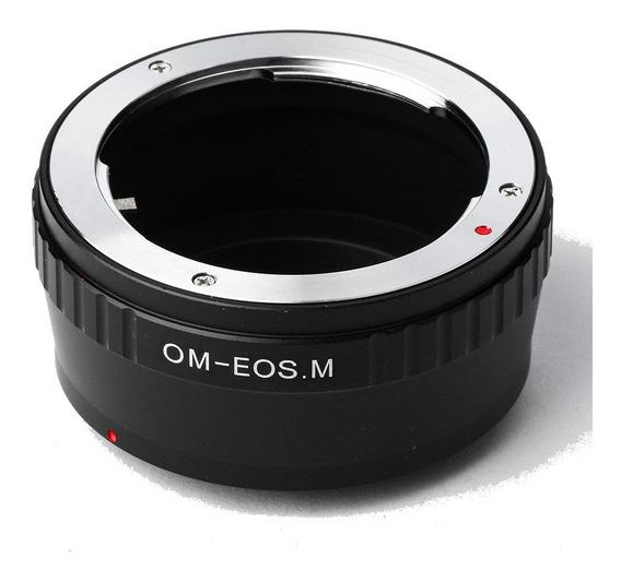 Anel Adaptador Lente Olympus Old Om-eosm Canon Eos M M2 M3