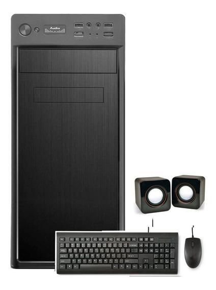Desktop Cpu Amd X2 4gb 500gb 2gb Placa De Vídeo Hdmi Wifi