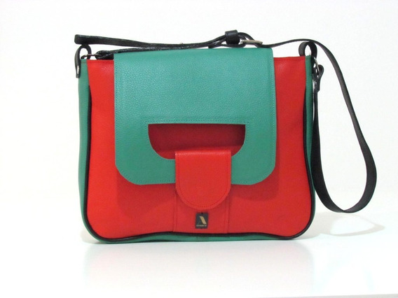 Saddle Porta (rojo Y Verde)