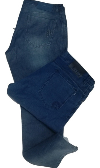Combo X 2 Jeans Modernos Hombre Talle 50 Al 60