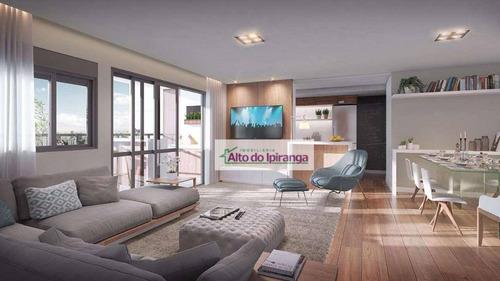 Apartamento Com 3 Dormitórios À Venda, 98 M² Por R$ 1.350.000,00 - Vila Gumercindo - São Paulo/sp - Ap4375