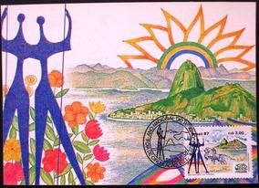 A9404 Máximo Postal Ano Nacional Do Turismo Nº 132/3