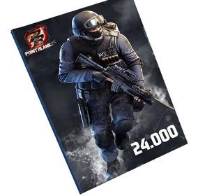 Cartão Pointblank 24000 Cash 24k Pb - O Melhor Preço !!