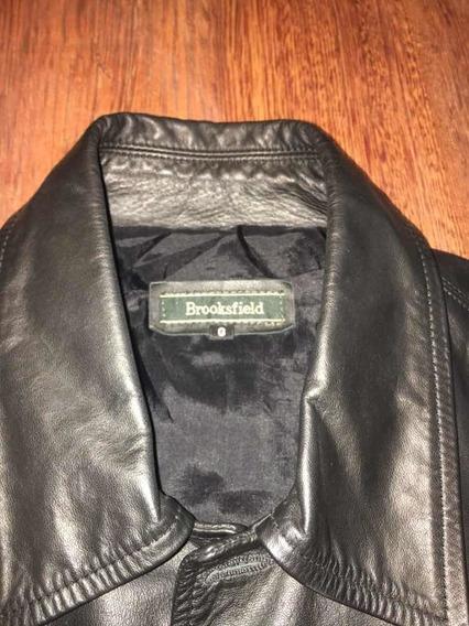 Jaqueta Em Couro Legítimo Brooksfield