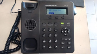 Telefone Voip Grandstream Gxp1405, Lcd Com Fonte De Energia
