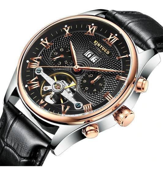 Relógio Mecânico Kinyued De Luxo Original