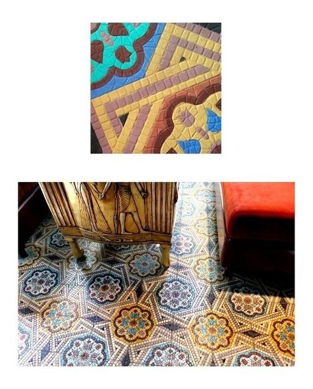 Mosaico Hidraulico Baldosas Granito Terrazo Porcelanato