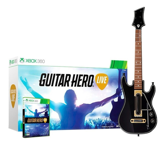 Guitar Hero Live Bundle Xbox 360 Original